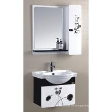 Gabinete de baño de PVC de 60 cm (P-011)