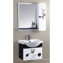 Armário do banheiro do PVC de 60cm (P-011)