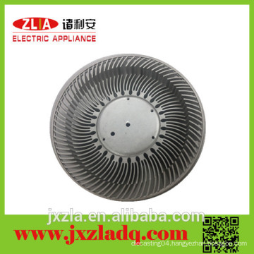 Extruded Anodized Enclosure Led Street Light Round Aluminum Heatsink
