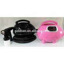 Главная Mini Body Tanning Bed Machine Оборудование Ручной HVLP Tan Spray Gun Портативный Indoor Профессиональный спрей загар системы