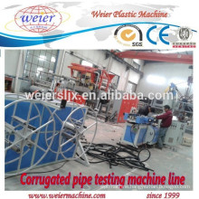 16-63mm diameter of PP PE PVC corrugated pipe manufacture line