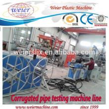16-63 мм диаметр PP PE ПВХ гофрированные трубы производство линии