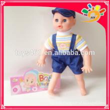 Vinyl 12-Zoll-Pissen lustige Funktion Baby Puppe Spielzeug Großhandel