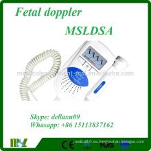 Ultrasonido Doppler fetal de sonido de bebé asequible MSLDSA-A