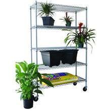 Exhibition Display Steel Wire Shelf Steel Rack with Ce (SLL-36)