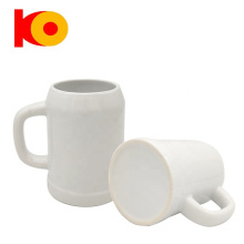 Cheap price in stock feature large volume glaze beer ceramic mug