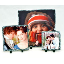 photo picture frame sublimation rock slate photo