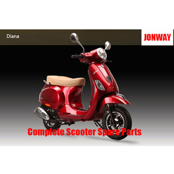 Jonway Diana repuestos de scooter completos Repuestos originales