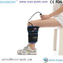 Máquina de terapia de hielo de la manga de compresión de los isquiotibiales para paquetes de frío de terapia de rodilla