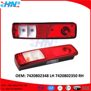 Aftermarket Rear Light 7420802348 7420802350 Truck Parts