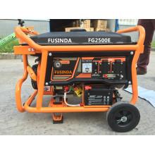 2kw Portable Benzin Generator Set für Home Standby mit Ce / Saso / CIQ / ISO / Soncap