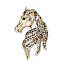 Fashion Rhinestone jewelry Metal Brooch Safety Pin
