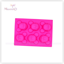 Micky Mouse Shaped Silicone Cake Mould