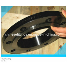 Углеродистая сталь A105 Кованый стальной фланец с черной окраской