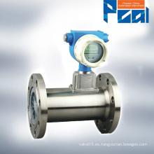 LWQ medidor de flujo de gas de turbina