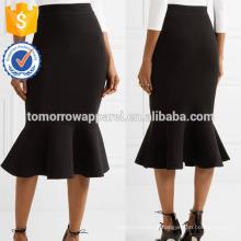 Nova Moda Trecho Malha Lápis Saia DEM / DOM Fabricação Atacado Moda Feminina Vestuário (TA5135S)