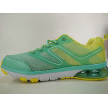 Fluorescent Green Solft Outsole Sports Shoes