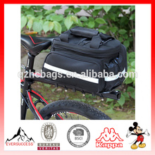 Waterproof Bicycle Saddle Bag Bike Rear Seat Trunk Bag Handbag Pannier