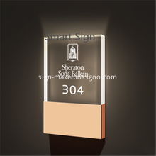 LED Hotel Room Numbers Sign