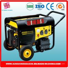 Generador de gasolina 6kw para el suministro casero con alta calidad (SP15000E2)