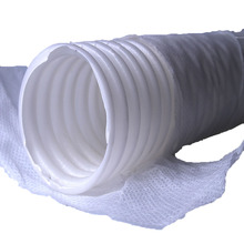 Underground Irrigation Plastic Ripple Pipe With Fabric