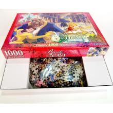 Cardboard custom 10000pcs puzzle game for adult