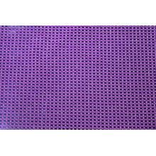 Tissu de maille géométrique en nylon métallique