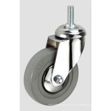 Echador de la industria del hilo de goma gris 3inch sin freno
