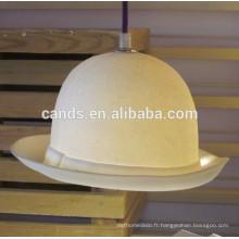 Les nouvelles lumières pendantes faites main de chapeau de conception