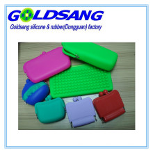 Different Design Eco-Friendly Silicone Wallet/Cosmetic Bag