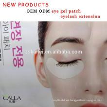 Nuevos productos parche de gel para ojos para extensión de pestañas