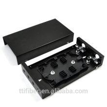 FTTX Montagem na parede Ficha de distribuição de fibra FC / ST de 4 portas / caixa de terminais