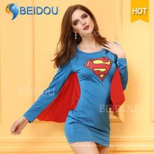 Фабрика женщин Необычные платья Японский медсестра Супермен Сексуальный костюм Хэллоуина