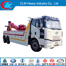 Faw 6X4 Winch Capacity 20ton Wrecker Tow Truck for Sale