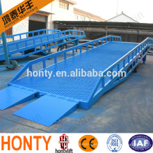 hot sale 10t mobile hydraulic container loading dock ramp lift