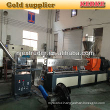300-400kg capacity twin screw masterbatch extruder