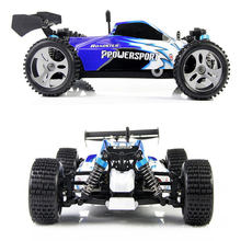 Escala de alta velocidade 4WD off-Road Buggy RC carro brinquedos controlados por controle remoto