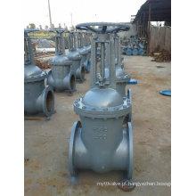 Válvula de portão GOST de aço fundido Py16 Dn400 (Z41H-16C-DN400)
