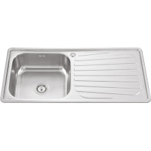 10050 Single Bowl with Plate Kitchen Sink