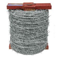 Galfan alambre de púas de alta resistencia
