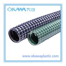 Tuyau d'aspirateur de PVC avec fil d'acier intérieur