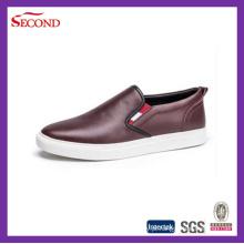 Couro Homens Lazer Sapatos