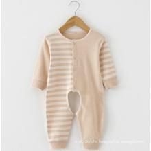Colored Cotton Long Sleeves Baby Romper