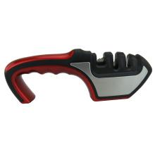 Afiador de facas de cozinha com afiador de tesoura