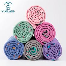yugland Quick Dry Non Slip Hot Yoga Towel With Corner Pocket Silicon ant cloth non slip yoga mat quick dry towel