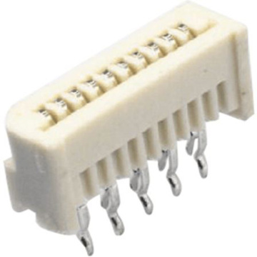 1,25 mm Pitch FFC / FPC-connector Niet-Zif rechte pen