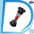Lzs Acrylic Tube Type ABS or PVC Fitting Flow Meter