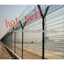 Treillis métallique à clôture d'aéroport avec haute qualité et prix compétitif