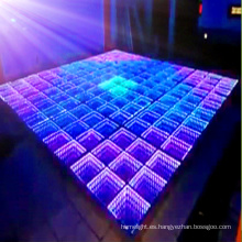 Durable Panel de espejo LED Bailando la luz del piso