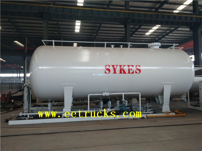 50000 Liters Skid Mounted LPG Stations